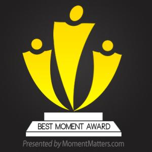 Definitely not an award for modesty